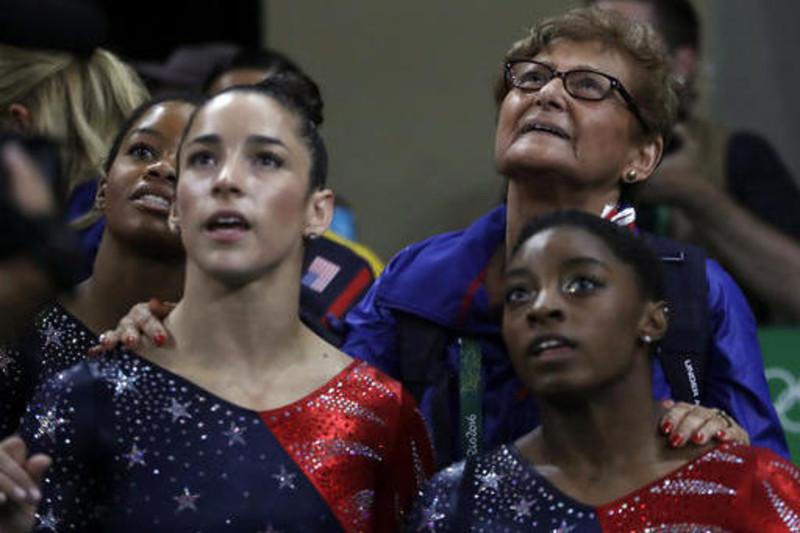Gymnastics often provide high drama during an Olympics.